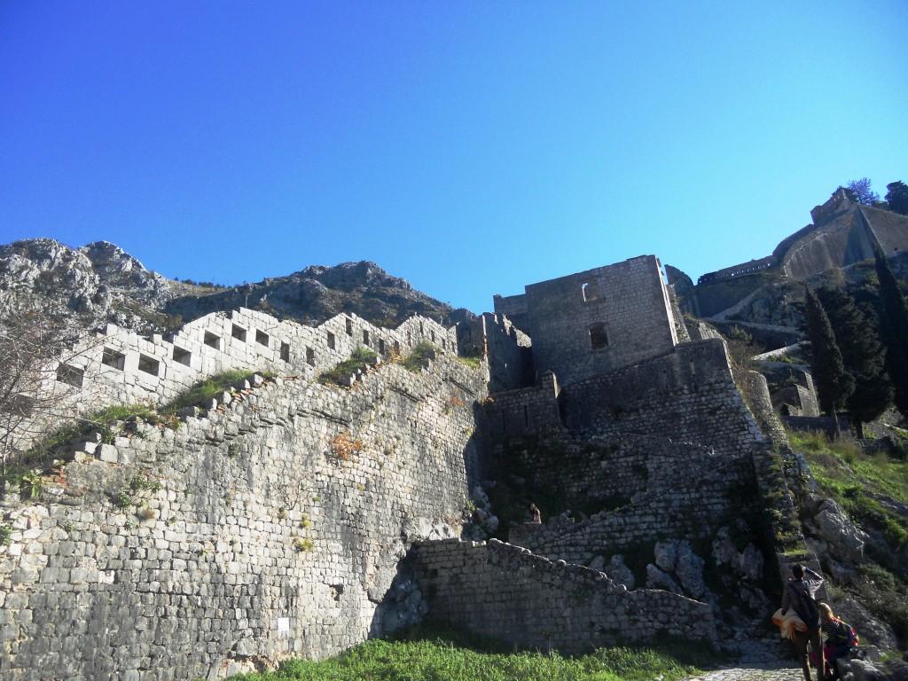 Kotor, tvrđava San Đovani