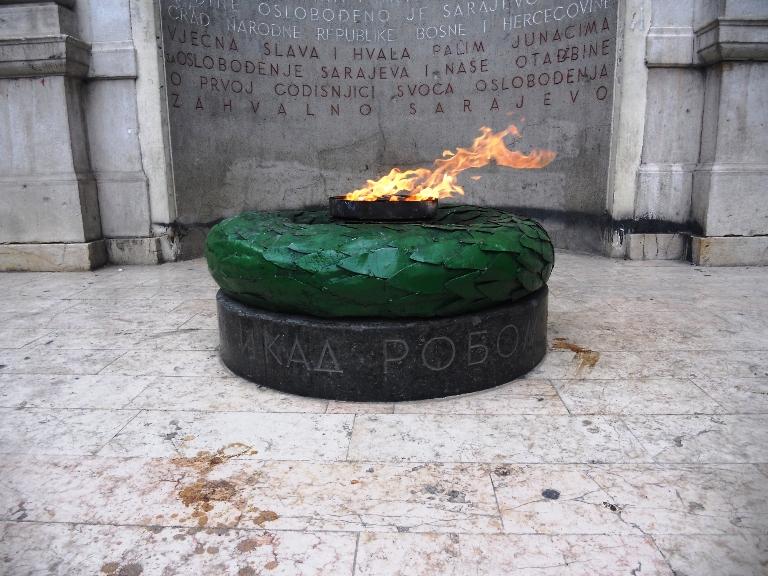 Sarajevo, Vječna vatra