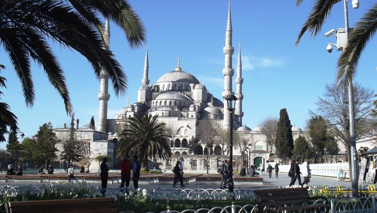 Istanbul, Plava (Sultan Ahmed džamija)