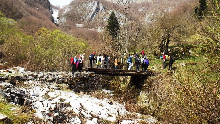 Most na Morači u selu Ljevišta