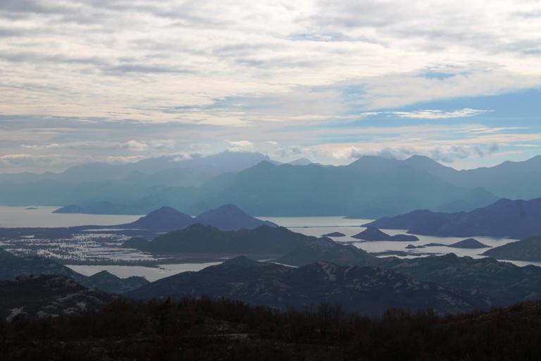 Skadarsko jezero s Velje gore