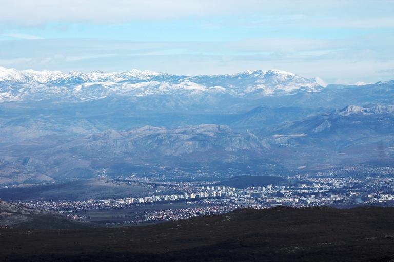Podgorica s Velje gore