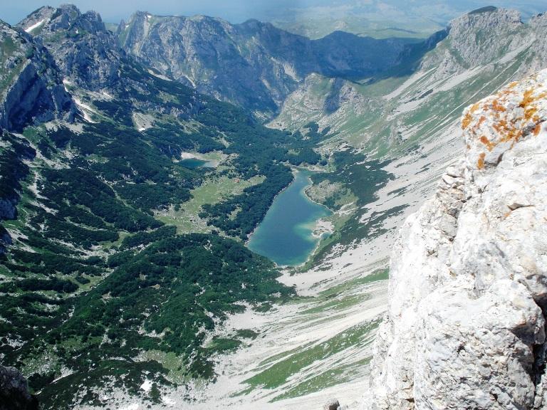 Škrčka jezera sa Bobotovog vrha
