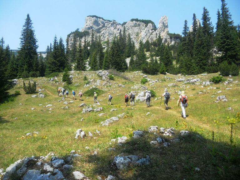 Planinari hitaju ka Jablan jezeru