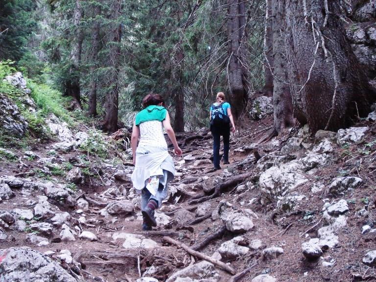 na putu ka Jablan jezeru