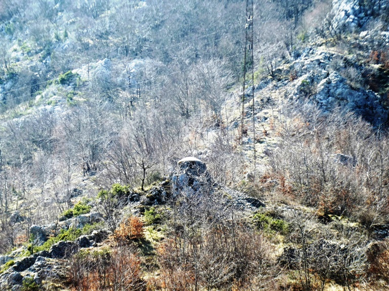 Bunker na raskrsnici puteva Čevo, Njeguši, Cetinje