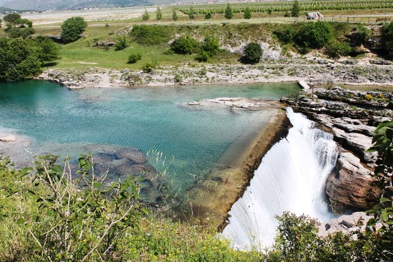 """Rijeka Cijevna, vodopad """"Nijagara"""""""