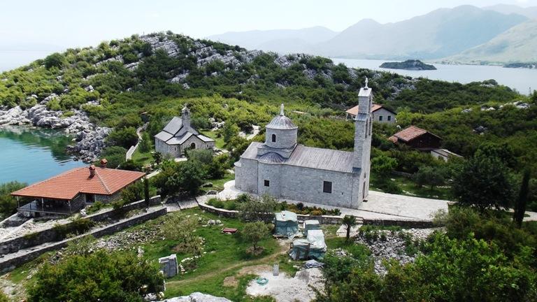 Ostrvo Beška, Skadarsko jezero