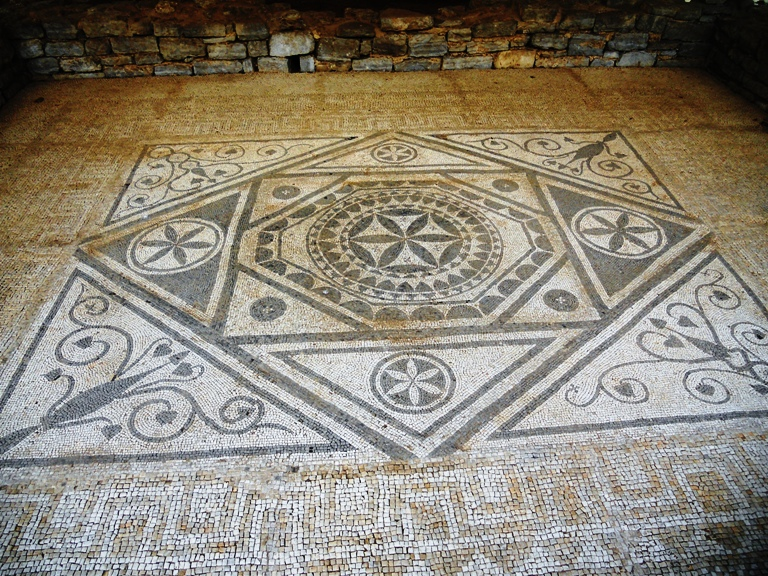Rimski mozaik u Perastu