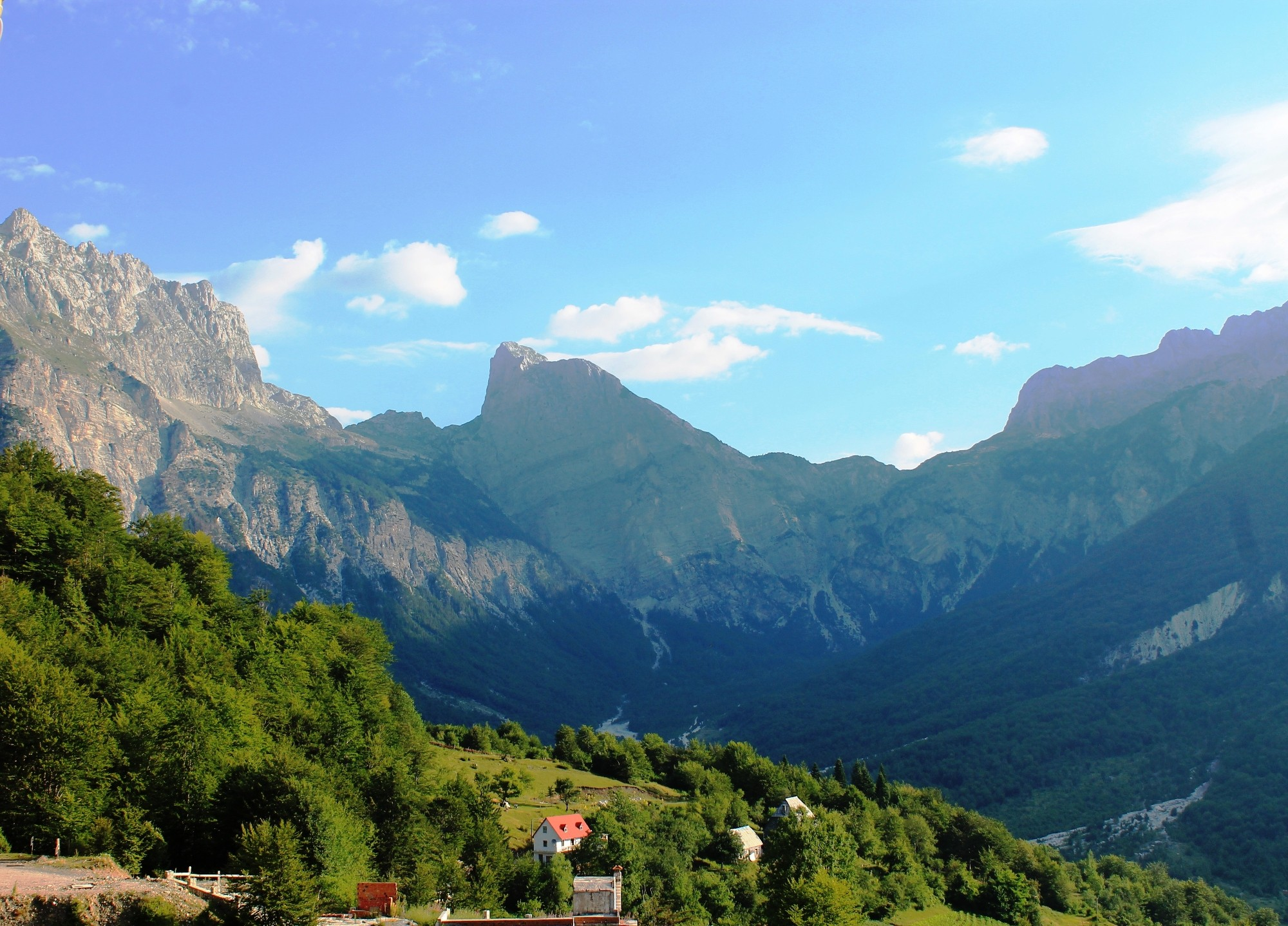 Thethi, Albanija