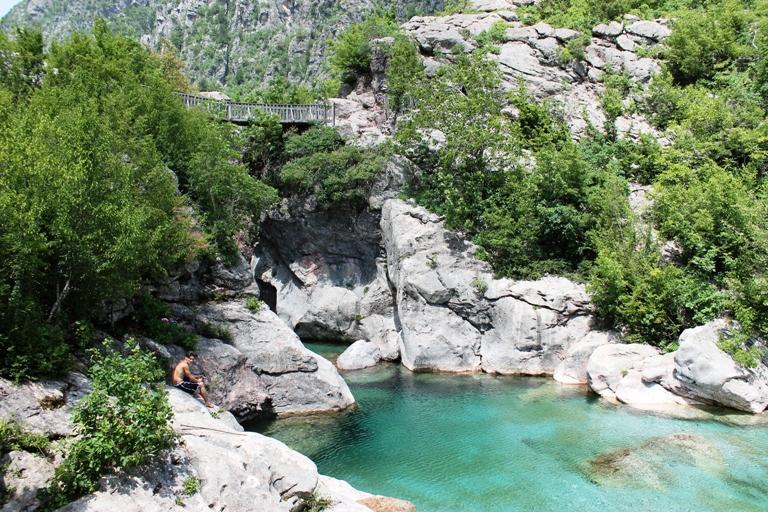 Crna rijeka, Theth