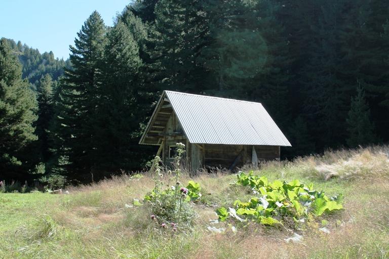 Planinarski dom pored Visitorskog jezera