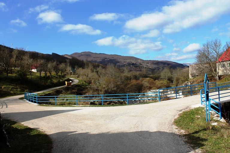 Most u selu Gornja Bijela
