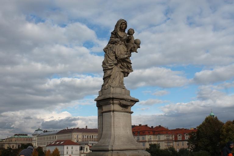 Skulptura na Karlovom mostu