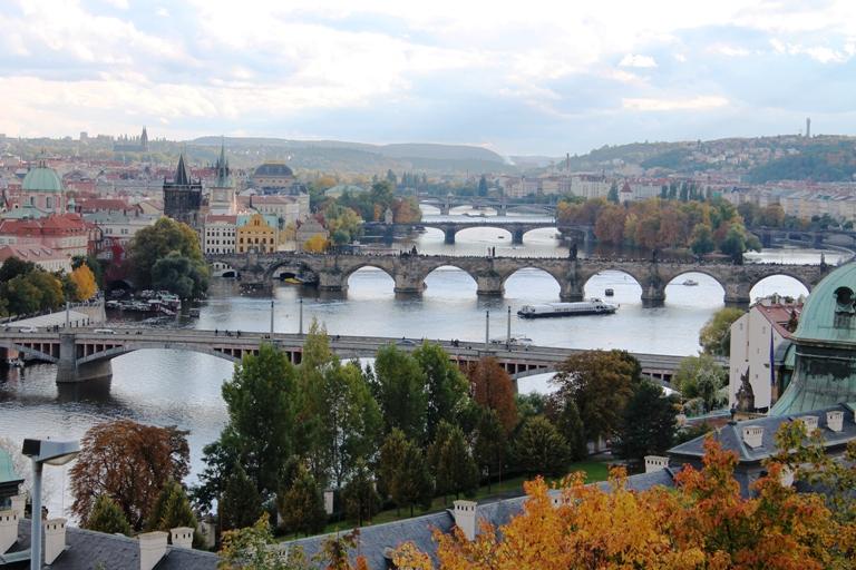 Pogled na mostove Praga