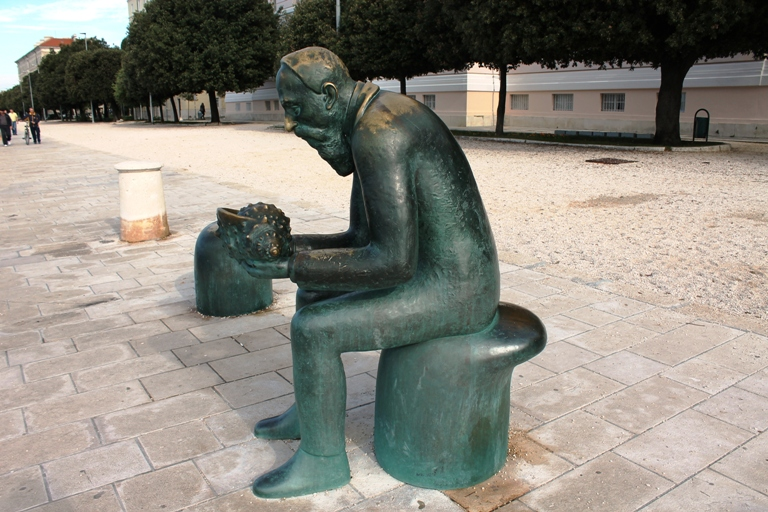 Spiridon Brusina, Zadar