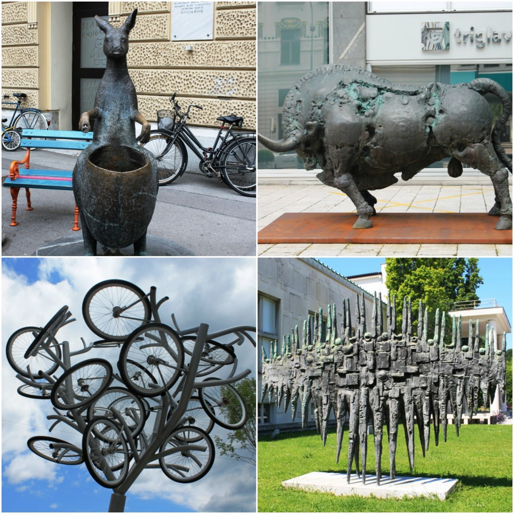 Ljubljana, skulpture