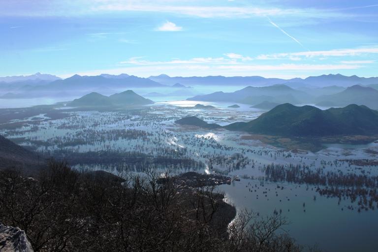 Skadarsko jezero i selo Dodoši
