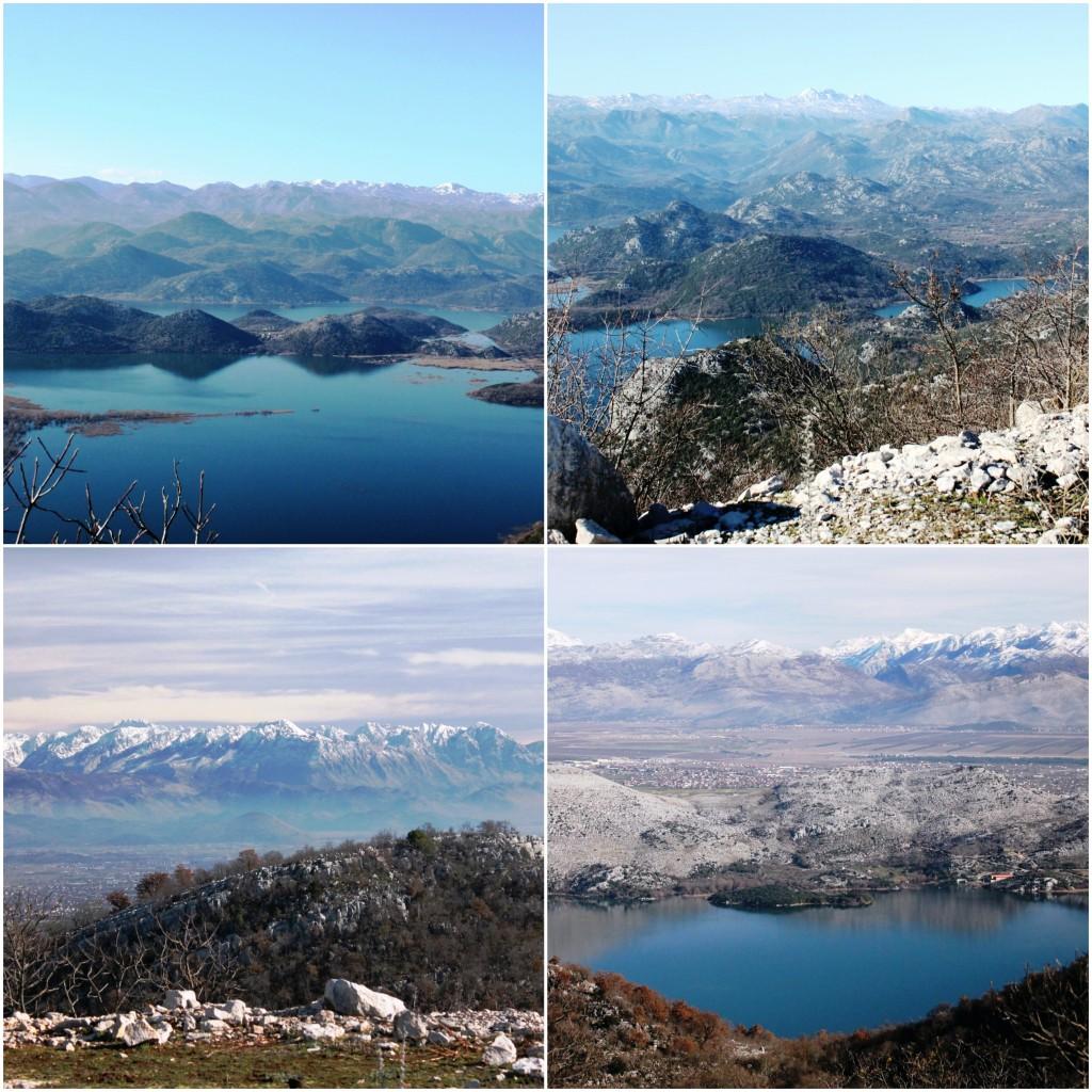 Skadarsko jezero - Pogled sa Male Bobije