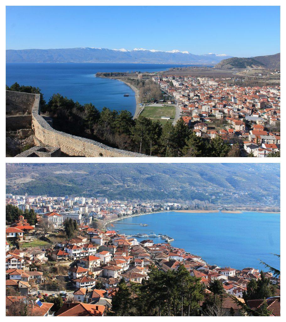 Ohrid sa Samuilove tvrđave
