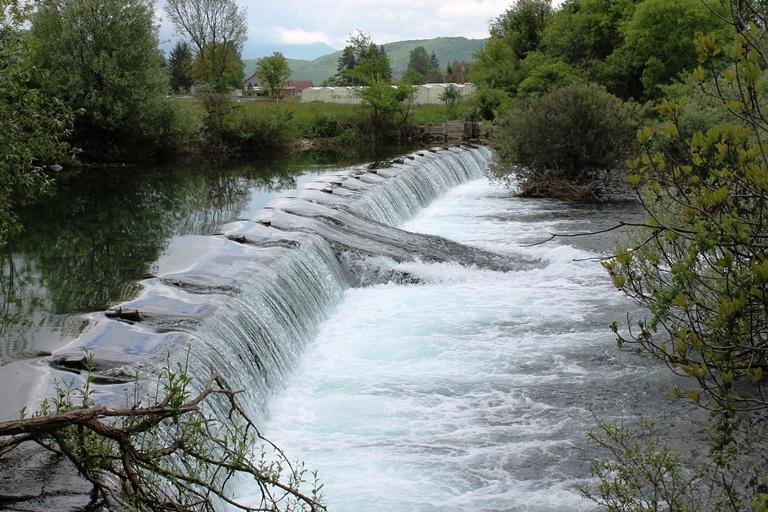 Brana na rijeci Sušici