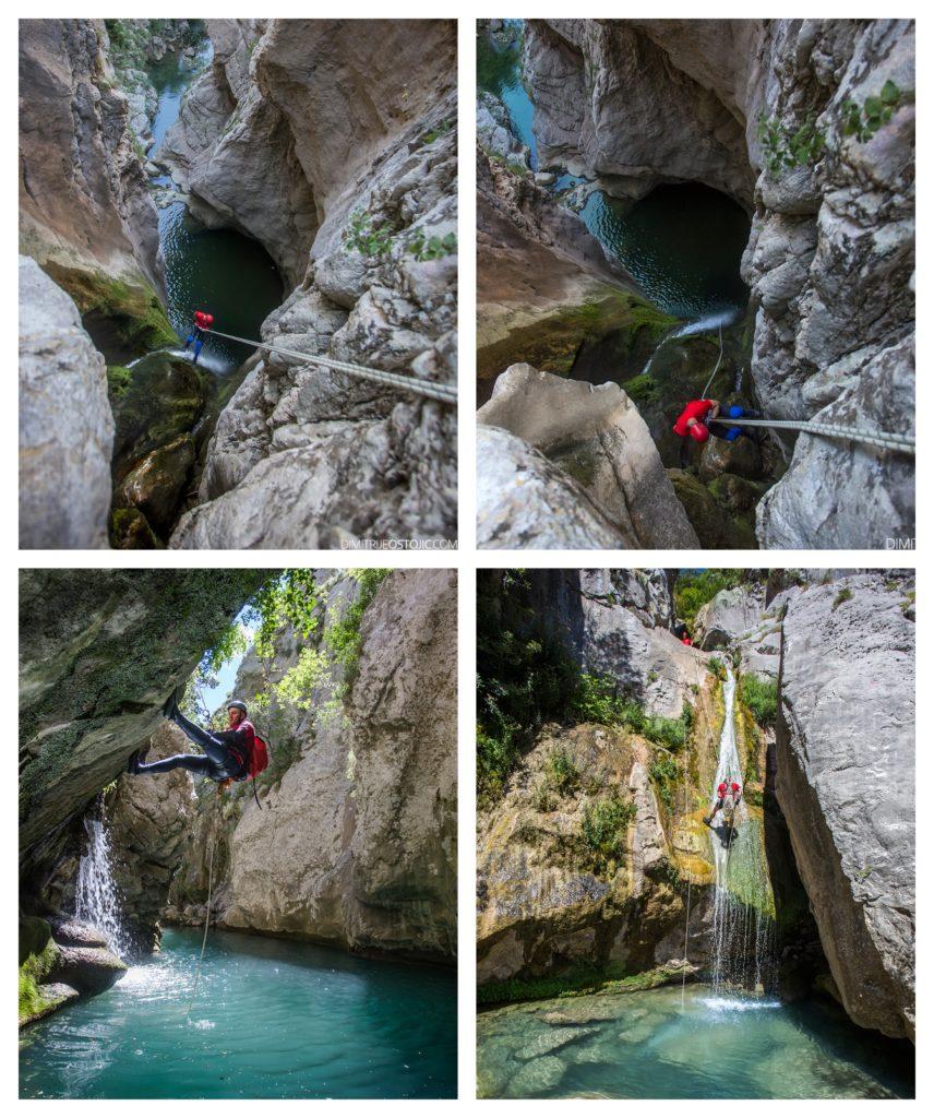 Dimitrije Ostojić: Kanjon Međurečki potok