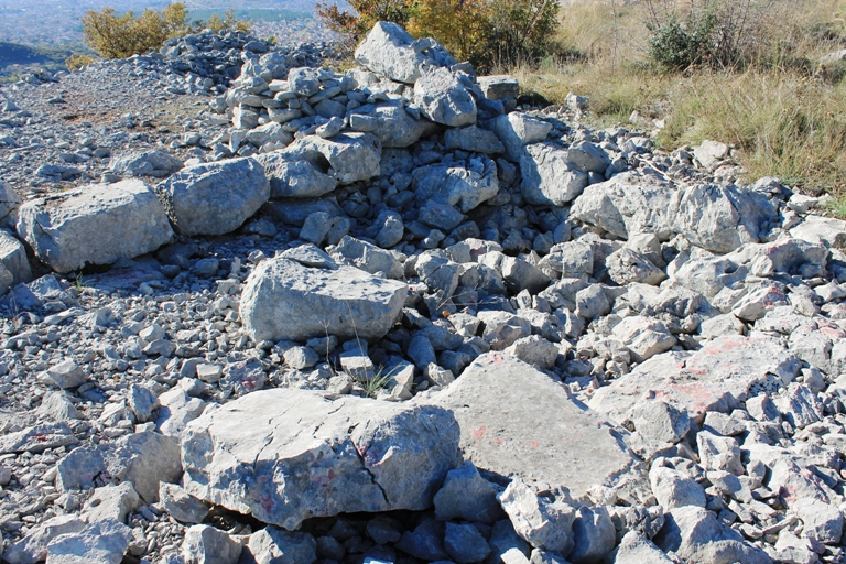 Ostaci utvrđenja Gradina