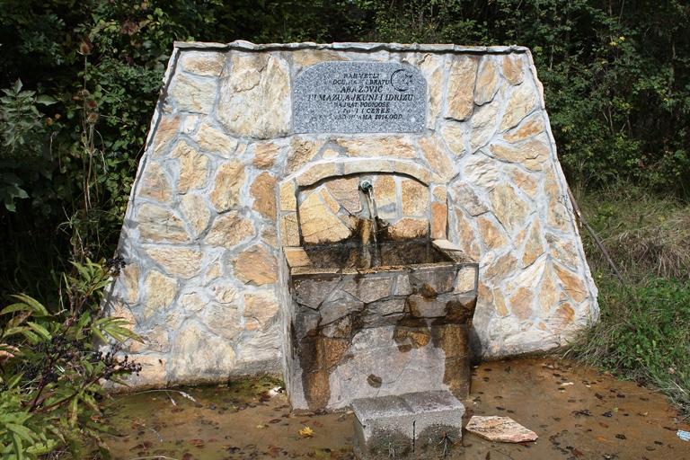 Memorijalna česma u Bistrici