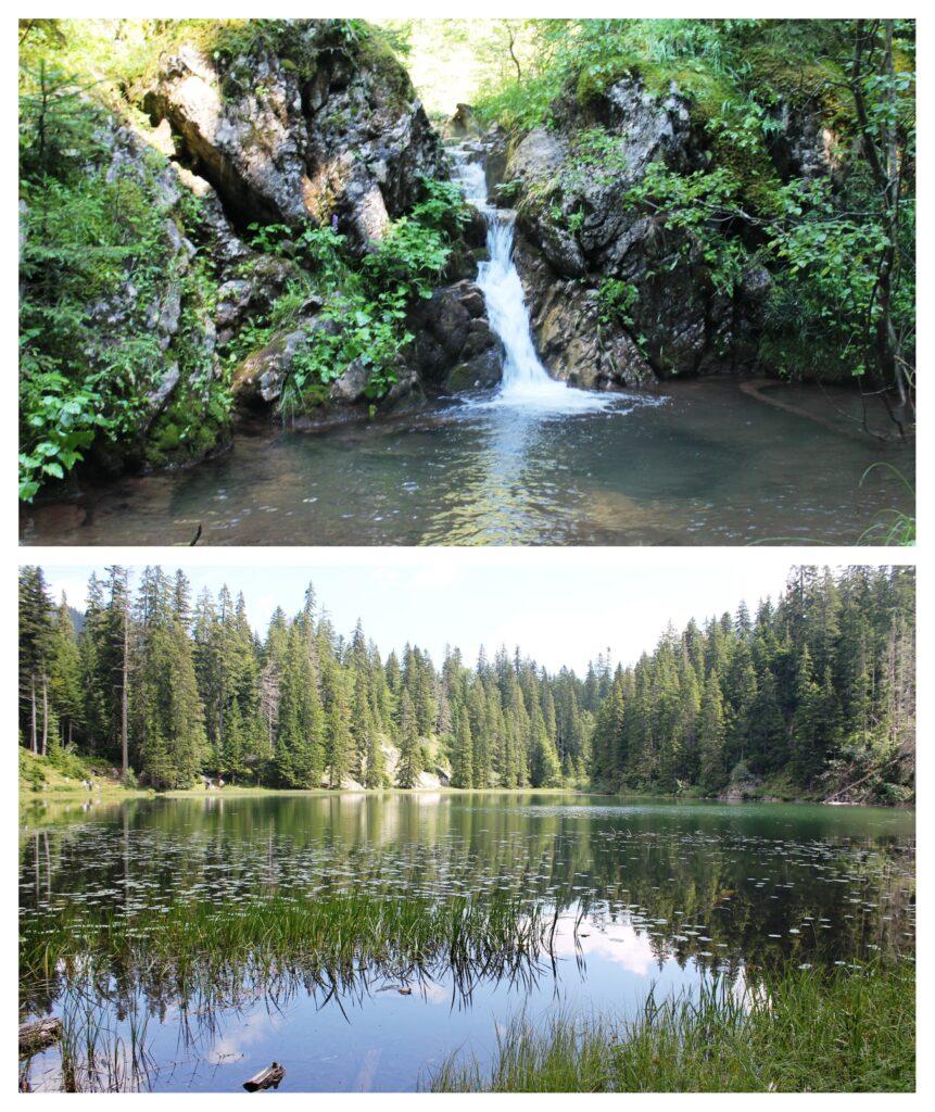 Mlinski potok i Zminje jezero