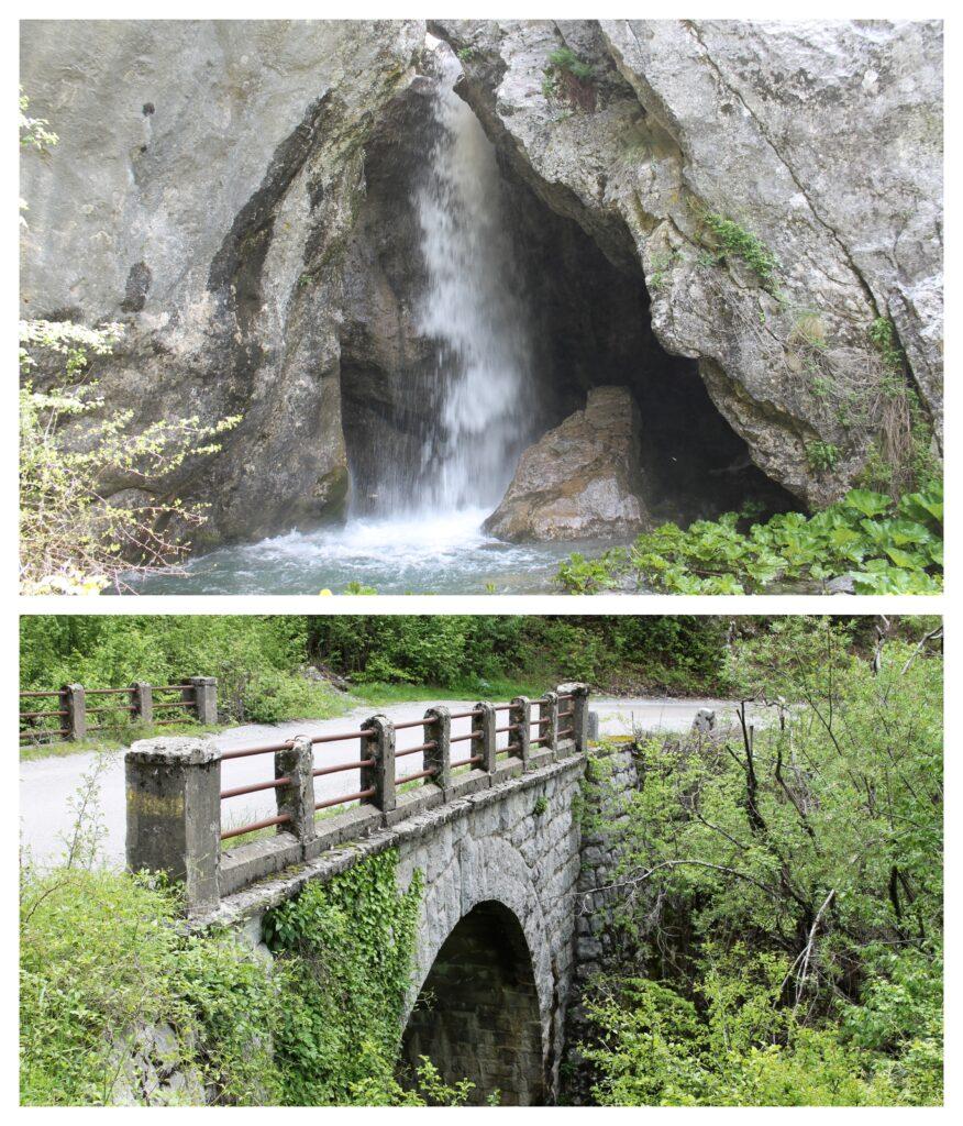 Vodopad na putu ka Veruši