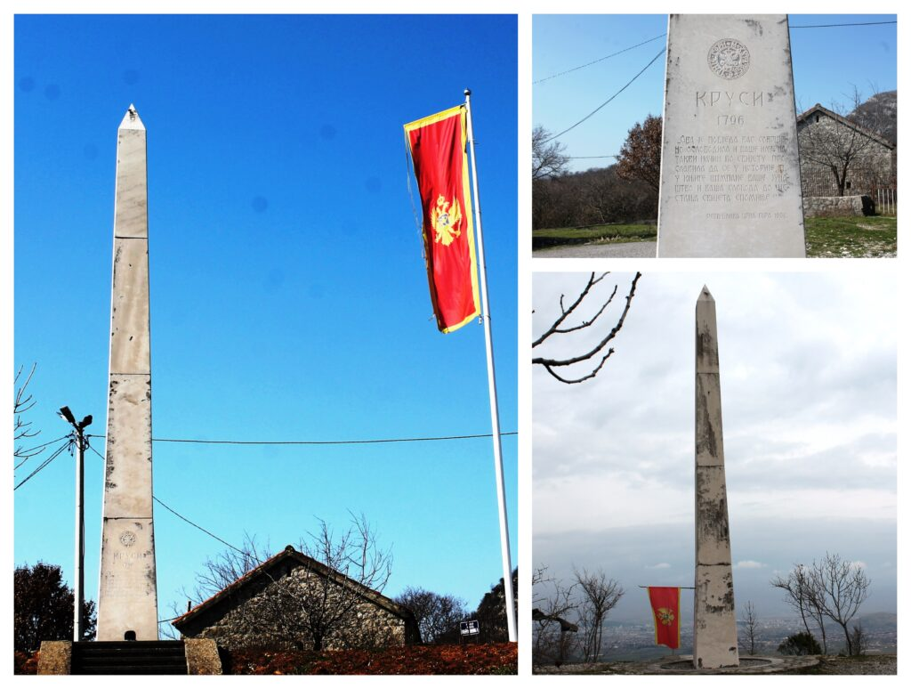Spomenik u Krusima