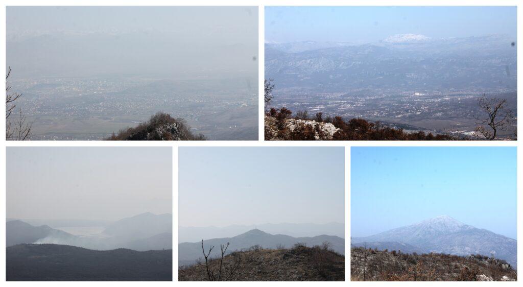 Pogled sa Varinog vrha